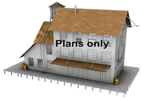Free-Model-Train-Building-Plans
