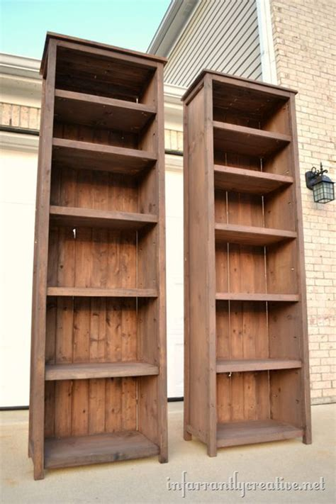 Free-Narrow-Book-Shelf-Plans