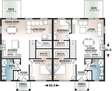 Free-Online-Duplex-House-Plans