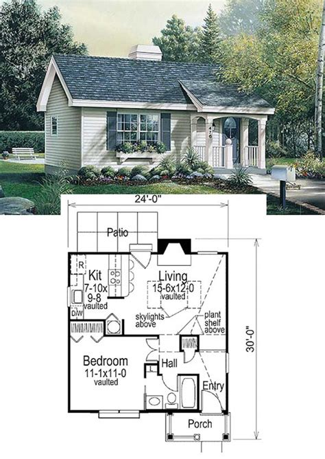 Free-Online-Tiny-House-Plans