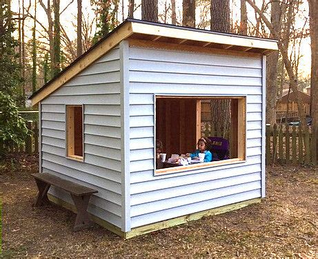 Free-Outdoor-Playhouse-Plans