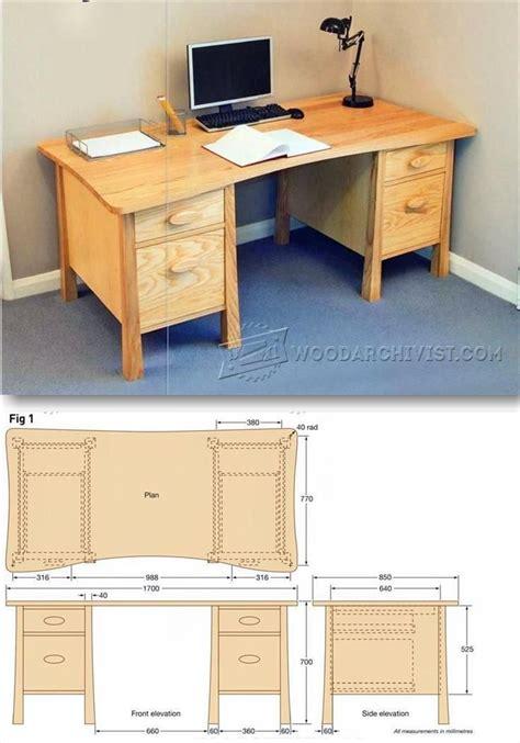 Free-Pedestal-Desk-Plans