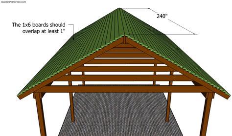 Free-Picnic-Shelter-Plans