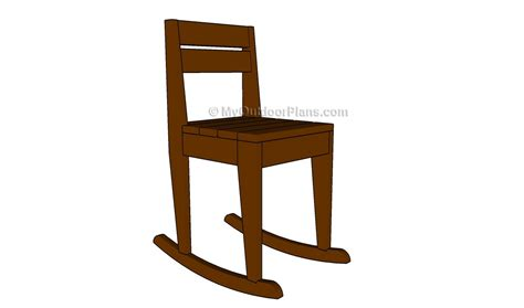 Free-Plans-For-A-Childs-Rocking-Chair