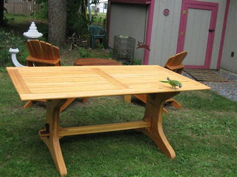 Free-Plans-For-A-Trestle-Table