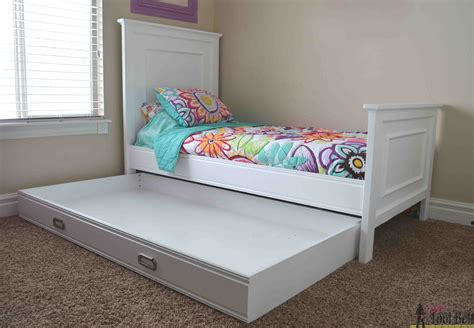 Free-Plans-For-A-Twin-Bed-Frame-With-Trundle