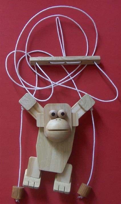 Free-Plans-For-A-Wooden-Rope-Climbing-Monkey-Toy