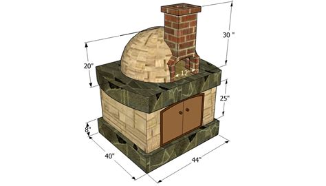 Free-Plans-For-Building-A-Homemade-Wood-Fired-Pizza-Oven