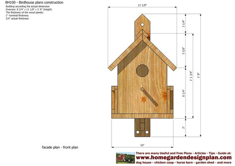 Free-Plans-For-Building-Bird-Houses
