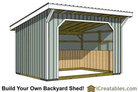 Free-Plans-For-Run-In-Shed