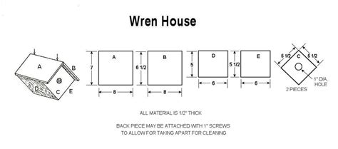 Free-Plans-To-Build-A-Wren-House