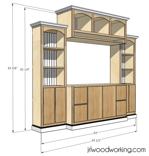 Free-Plans-To-Build-An-Entertainment-Center