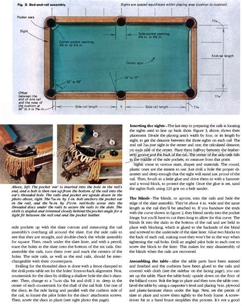 Free-Pool-Table-Woodworking-Plans