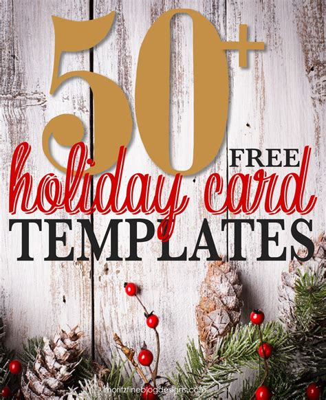 Free-Printable-Photo-Christmas-Card-Templates