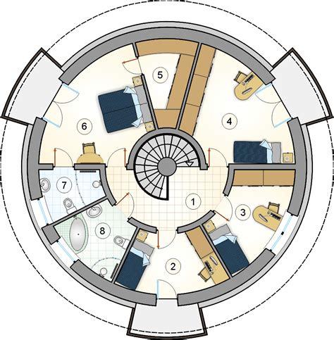 Free-Round-House-Floor-Plans