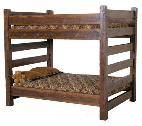 Free-Rustic-Bunk-Bed-Plans