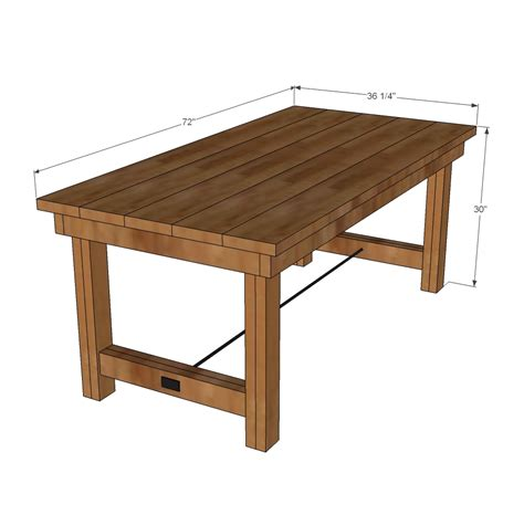 Free-Simple-Building-Plans-For-Kitchen-Table