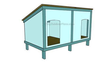 Free-Slant-Roof-Dog-House-Plans
