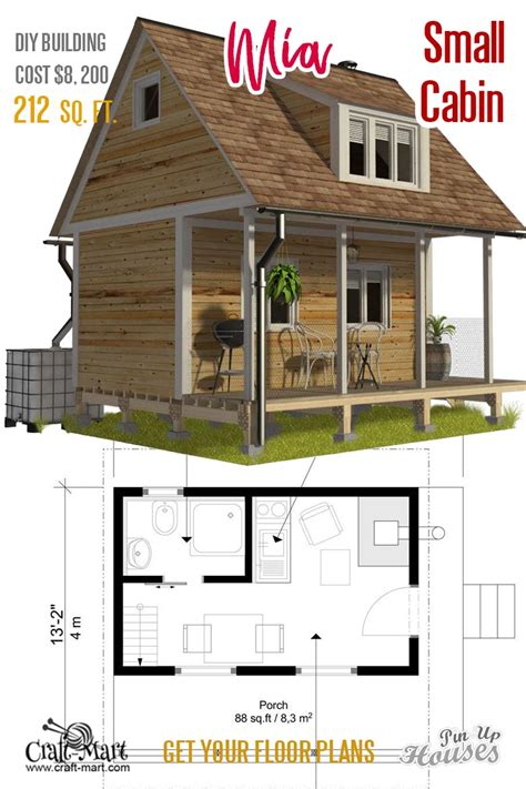 Free-Small-Cabin-House-Plans