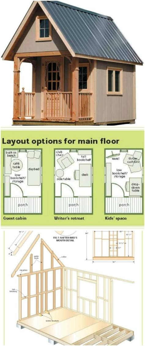 Free-Small-Wooden-House-Plans