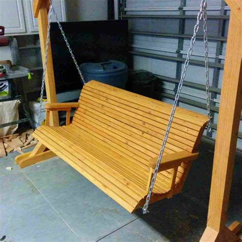 Free-Standing-Bench-Swing-Plans
