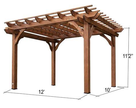Free-Standing-Pergola-Design-Plans