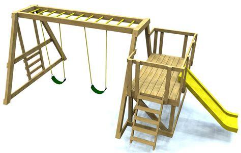 Free-Standing-Swing-Set-Plans