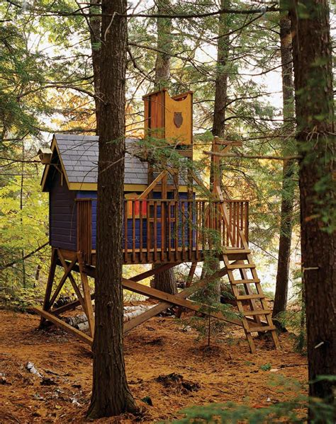 Free-Standing-Tree-House-Building-Plans