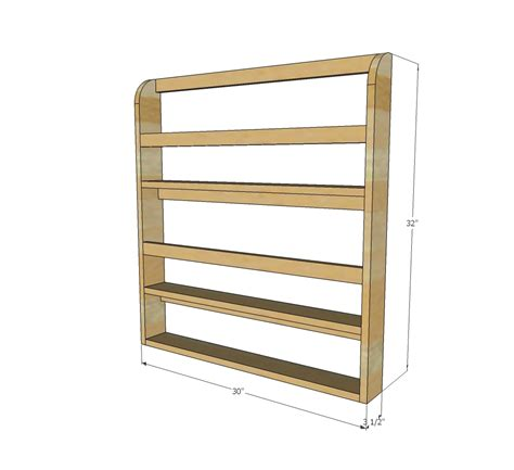 Free-Standing-Wooden-Plate-Rack-Plans