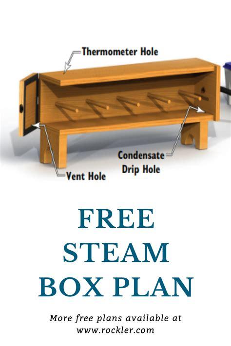 Free-Steam-Box-Plans
