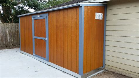 Free-Storage-Shed-With-Attached-Kennel-Plans