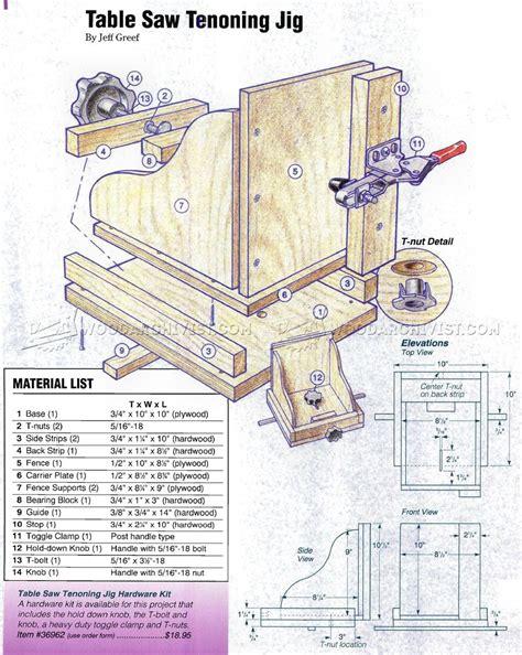 Free-Table-Saw-Tenon-Jig-Plans