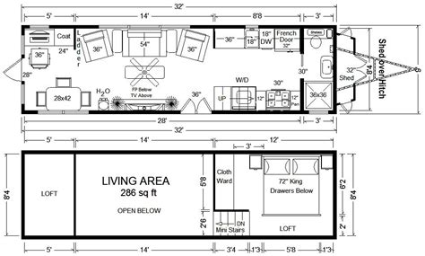 Free-Tiny-House-On-Wheels-Floor-Plans