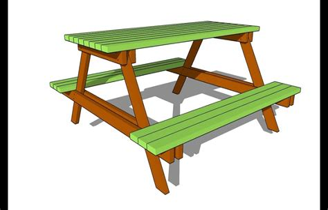 Free-Unique-Picnic-Table-Plans