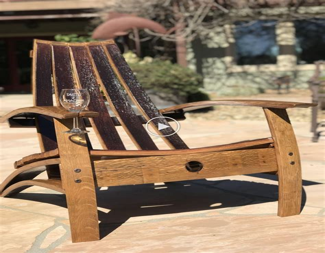 Free-Wine-Barrel-Chair-Plans