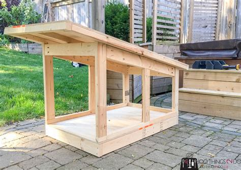 Free-Winter-Dog-House-Plans