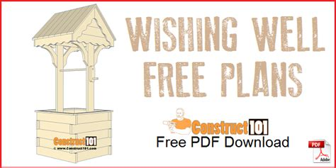 Free-Wishing-Well-Plans-Downloads