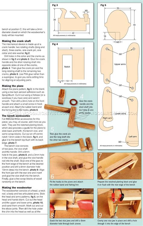 Free-Wooden-Automata-Plans
