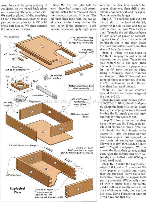 Free-Wooden-Cigar-Box-Plans