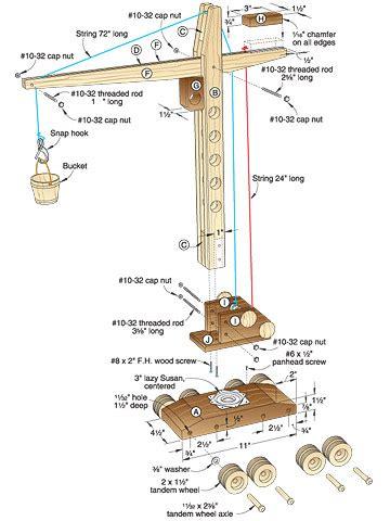Free-Wooden-Crane-Plans