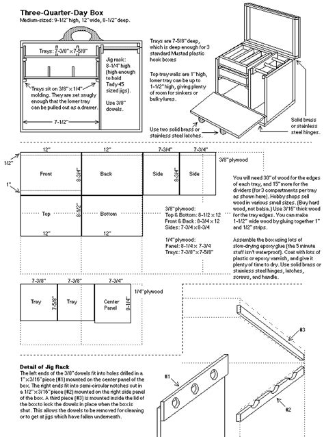 Free-Wooden-Fishing-Tackle-Box-Plans