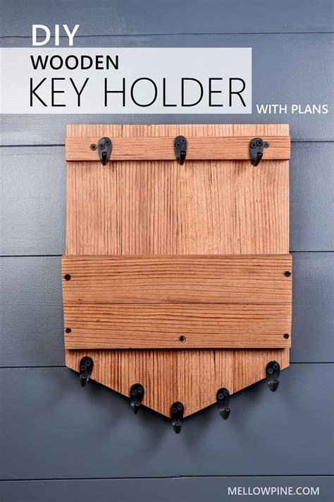 Free-Wooden-Key-Holder-Plans