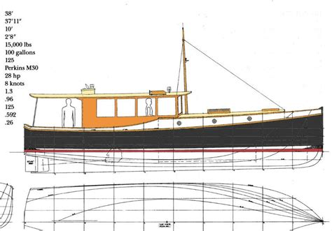 Free-Wooden-Motor-Boat-Plans