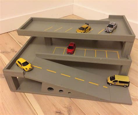 Free-Wooden-Toy-Garage-Plans