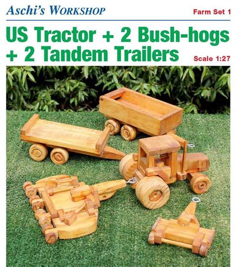 Free-Wooden-Tractor-Plans