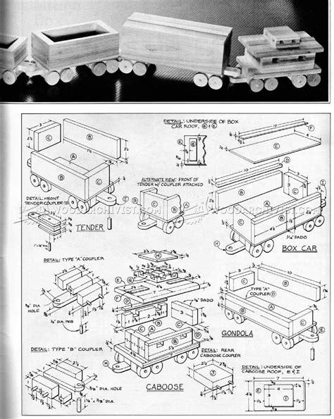 Free-Wooden-Train-Set-Plans