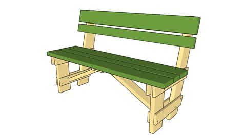 Free-Woodworking-Garden-Bench-Plans