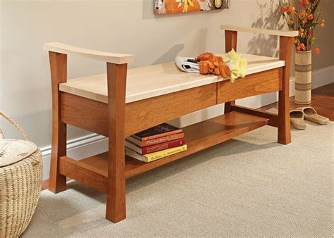 Free-Woodworking-Plans-For-Entryway-Bench