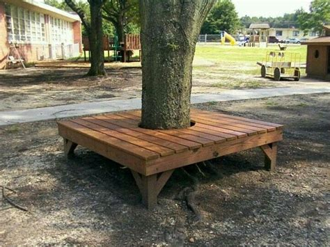 Free-Woodworking-Plans-For-Round-Tree-Bench