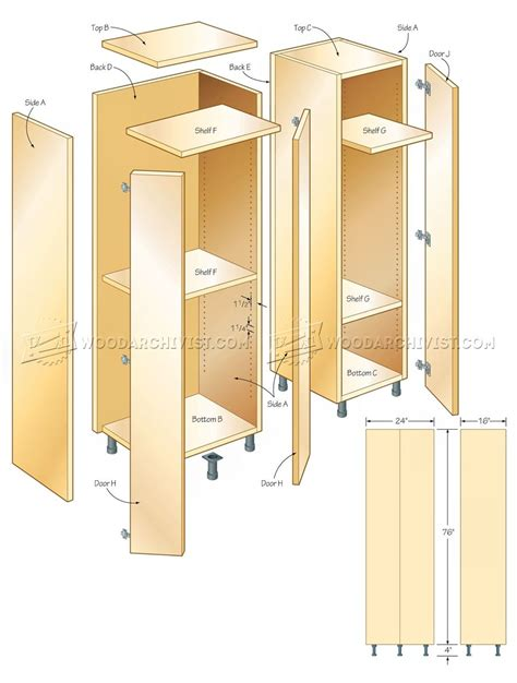 Free-Woodworking-Plans-For-Tall-Storage-Cabinet